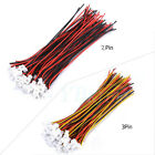 40PCS Micro JST PH 1.25 2-PIN/3-PIN Male Female Plug Connector +100mm Wire Cable