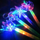 Light Flashing Princess Wand LED Fairy Magic Wand Big Moon Star Butterfly Sticks