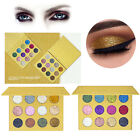 Shiny Pressed Powder Eyeshadow Palette Makeup Cosmetic Glossy Eye Shadow Hot