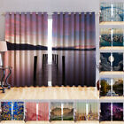 Blackout Fabric 3D Printed Curtains Eyelet Ready Made Ring Top Window Kids Photo