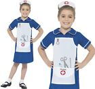 Childrens Girls Fancy Dress Nurse Book Day Costume Kids Outfit New by Smiffys
