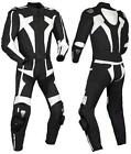 Blacky Motorcycle Leather Suit MotoGp Sports Motorbike Leather Suit XS-4XL