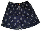 Dallas Cowboys NFL White Star Logo Blue Cotton Boxer Shorts Briefs Underwear