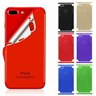 For iPhone 7 6 6S Plus Metal Effect -- Full Body Skin Sticker Wrap Decal Cover