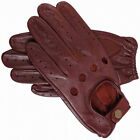 50% OFF Genuine Leather Driving Gloves Brown Medium & Large