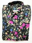 NEW With Tag POLO Ralph Lauren Womens NON-IRON DRESS SHIRT FLORAL Black