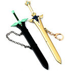New Sword Art Online Kirigaya Kazuto Darker Cos Weapon Keychain Collection 17CM