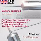 Authentic Pilot Coil Electric Wire Coiling Jig for heavy wires, Vape, Battery Op