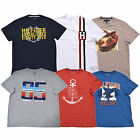 Tommy Hilfiger Mens T-shirt Graphic Tee Crew Neck Flag Logo Short Sleeve New Nwt