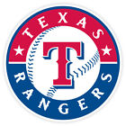 Texas Rangers Vinyl Sticker Decal *SIZES* Cornhole Truck Car Bumper Wall on Ebay