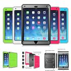 ShockProof Hybrid Hard Back Case w/ Screen Protector For iPad Mini 4 / 3 / 2 / 1