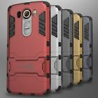 For LG V10 Case Slim Hard Kickstand Hybrid Dual Layer Protective Phone Cover