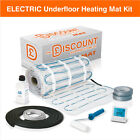 Electric underfloor heating 150w mat kit - All sizes in this listing