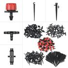Drip Watering Irrigation System Fixed Stem Barb Connector Garden Water Lawn G7Z8