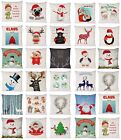 CHRISTMAS CUSHION COVER PILLOW CASE RETRO FASHION IDEAL GIFT