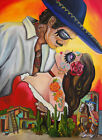 Forever Gone With the Wind by Melody Smith Day of the Dead Canvas Fine Art Print