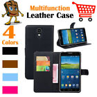 Leather Wallet Stand Folio LSP Case Skin For Samsung Galaxy Mega 2  G750 G7508