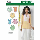 Simplicity 1461 Sewing Pattern Tunic Misses 10-18 Woman's 20W-28W Cup B,C,D,DD