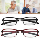 3 Colors Unisex Anti-fatigue Foldable Reading Glasses Folded Hanging +1.0 - +4.0