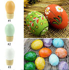 Creative DIY Wooden Easter Simulated Egg Stand Home Decor Kids Pretend EDC Toys