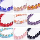 10mm Round 96Faceted Ball Charms Crystal Glass Loose Spacer Beads Wholesale NEW