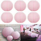 5Pcs Pink LED Light Balloon Lamp For Paper Lantern Birthday Wedding Party Decor