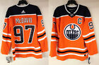 Connor McDavid Edmonton Oilers 97 Adidas Authentic NHL adizero Hockey Jersey