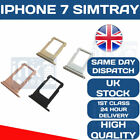 Apple iPhone 7 Sim Tray Holder Replacement Sim Slot OEM ALL COLOURS