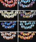 10pcs 14x9mm Polish Charms Rondelle Faceted Glass Crystal  Loose Spacer Beads