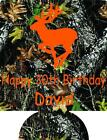 camo 30th Birthday Koozie no minimum deer can coolers quick ship 133149836