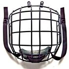 CE ice hockey helmet 304 stainless steel cage with chin strap and foam cup