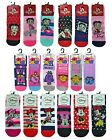 Ladies Minnie Mouse Little Miss Betty Boop PACK OF 6 Novelty Socks Size 4 - 8 UK $8.51 USD