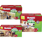 HUGGIES Little Movers Slip On Baby Diapers Size 3, 4, 5, 6 CHEAP!!!