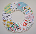 Reusable Bamboo Breast Pads, Gift Wrapped Sets of 6 or 10 NEW DESIGNS! FREE P&P!