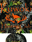 Hunting Club koozies no minimum custom personalized can coolers quick ship
