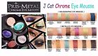 J Cat PRIS-METAL CHROME EYE MOUSSE - Metallic Eye Shadow Colors *Authentic*