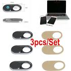 3 Pcs/Pack Webcam Cover Slider Camera Shield for Laptop Pad Tablet Phone Privacy