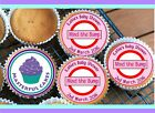 24 PERSONALISED PINK BABY SHOWER DESIGN CUPCAKE TOPPER RICE, WAFER  ICING BS10