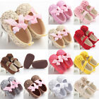 Hot Cheap! Newborn to 18M Infants Baby Girl Soft Crib Shoes Prewalker Sole Shoes