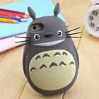 For iPhone 3D Phone Case Cover Cute Animal Cartoon Anime Soft Silicone Back Skin