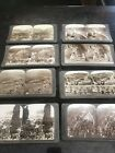 WOW! Rare Box Lot Of 49 Underwood Stereographs Israel Palestine 1914-15 Photos