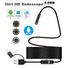 Borescope Snake Camera For Sewer Plumbing Inspection Wifi Android PC and Mac