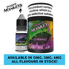 Twelve Monkeys - O-RangZ E Liquid - 3 X 10ml - 0mg/3mg/6mg - All Flavours