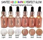 Santee HOLOGRAPHIC PERFECT GLOW- Liquid Highlight & Bronze with Dropper