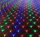 1.5M X 1.5M LED Christmas Tree Garden Curtains Home Wall String Fairy Net Lights