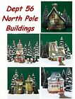 Dept 56 North Pole Buildings - NIB -Not Sold As Set Several Bldgs To Choose From