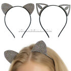 Внешний вид - Kitty Cat Ears Headband Hair Accessory Costume Halloween Sexy Cute Cosplay Black