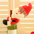 Christmas Wine Bottle Ornaments | Supports Toys for Tots