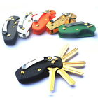 EDC Acrylic Key Holder Organizer Clip Folder Keyring Keychain Case Pocket Tool