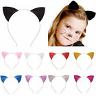 Fashion Girls & Kid Cute Cat Ears Metal Headband Hair Band Costume Fancy Party